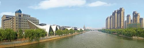 济南市小清河板桥飞鹞景观工程